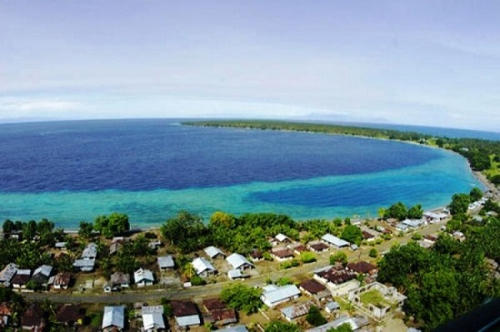 Beautiful Morotai Island Maluku