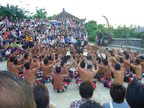 Traditional Kecak dance in Bali