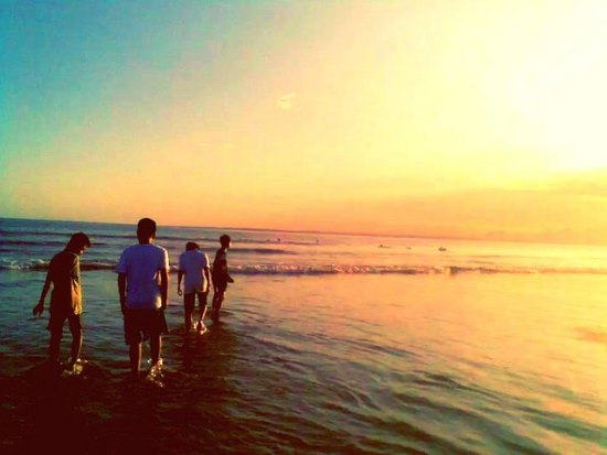 Afternoon at Pangandaran Beach