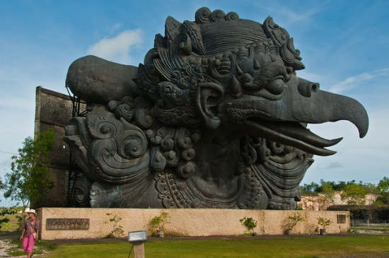 Garuda Monument at Garuda Wisnu Kencana Bali