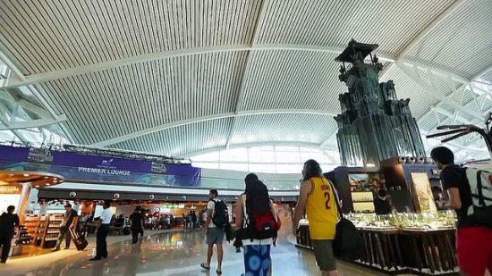 I Gusti Ngurah Rai Airport Bali Arrival Hall