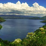 Lake Toba from Samosir Island