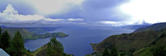 Lake Toba in North Sumatera Indonesia