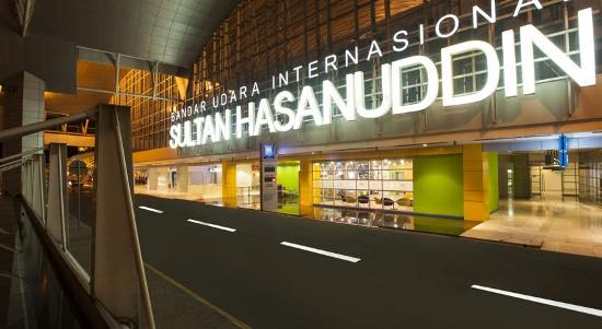 Sultan Hasanuddin Airport in South Sulawesi