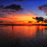 Sunset at Sanur Beach Bali