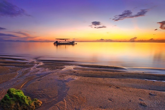 The best view of Sanur Beach Bali