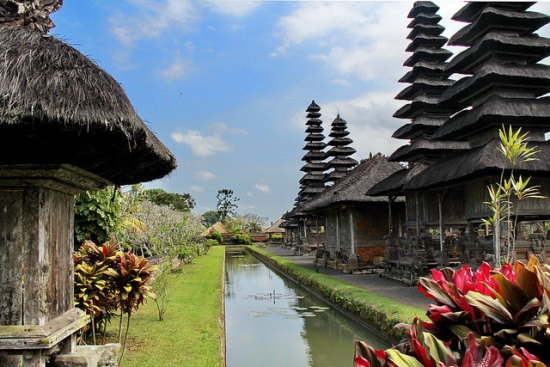 Another side of Pura Taman Ayun Bali