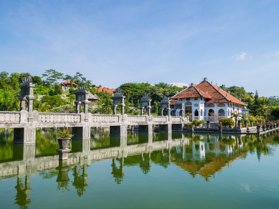 Another view of Ujung Water Palace