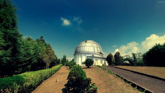 Bandung Travel Guide Bosscha Observatorium in Lembang Bandung