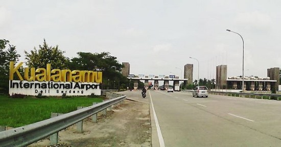 Kualanamu Airport Toll Road