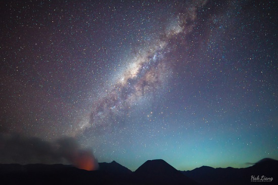 Milky Way from Bromo Tengger Semeru National Park
