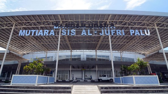 Mutiara Airport Palu Main Entrance