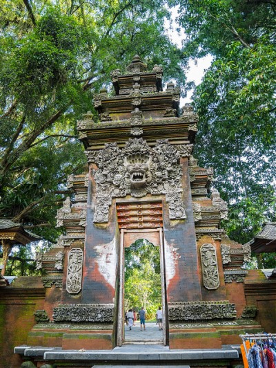 Pura Tirta Empul Entrance Gate