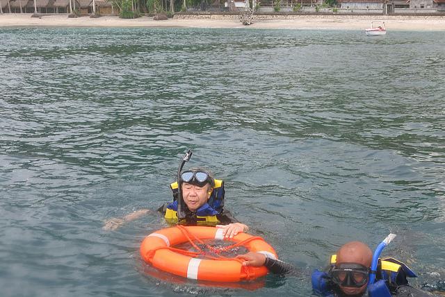 Snorkeling at Toyapakeh Nusa Penida