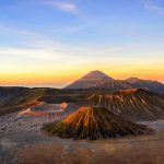 Sunrise and Mount Bromo Sand Dunes