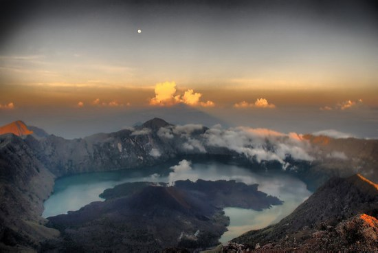 Sunrise at Mount Rinjani Lombok