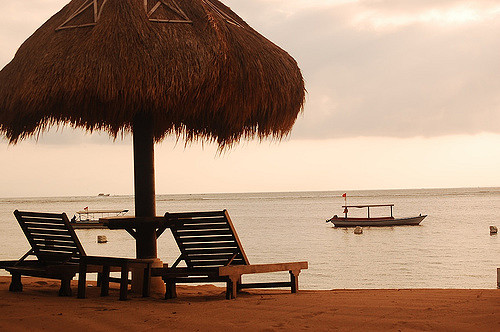 Sunset in Tanjung Benoa Bali