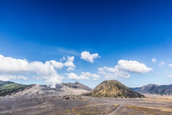 Tengger caldera of Mount Bromo
