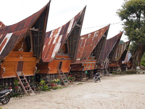 Traditional House in Ambarita Samosir Island