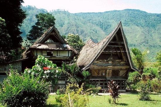Traditional House in Tomok Samosir Island