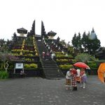 Visiting the mother of temples Pura Besakih